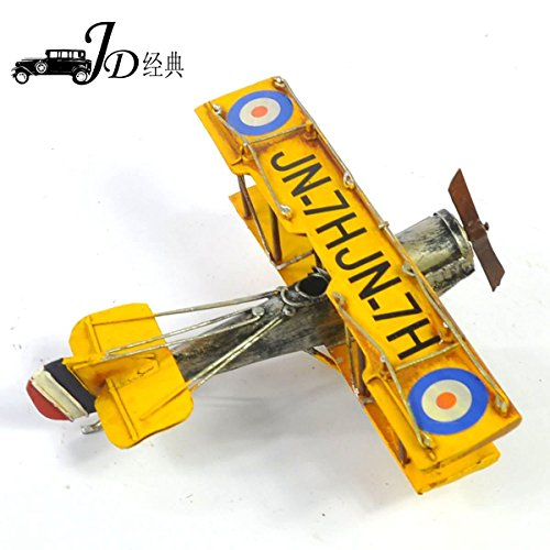 My Box Vintage / Retro Handicraft- Metal Plane Models - A Palne , the Best Choice for Christmas Gift/home Decor/ornament/ Desktop Decoration hot retro iron motorcycle model ornaments vintage metal motorbike crafts home decor xmas gift kids gift free shipping two color