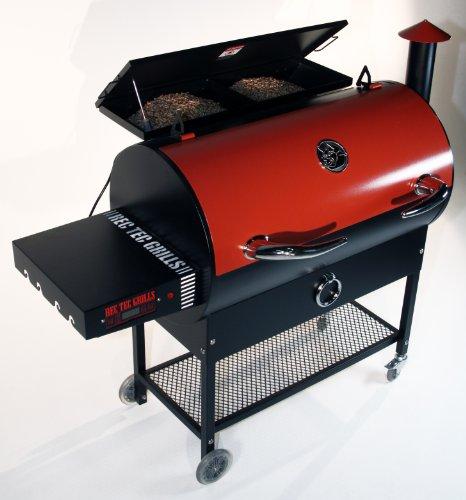 Rec Tec Wood Pellet Grill - Featuring Smart Grill Technologytm front-237453