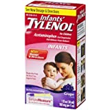 Infants' Tylenol Pain Reliever-Fever Reducer Oral Suspension, Grape Flavor