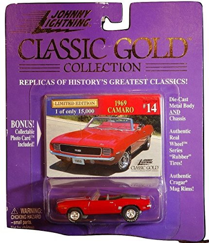 1969 Camaro Johnny Lightning Classic Gold Collection #14