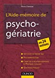 img - for l'aide-m moire de psychog riatrie book / textbook / text book
