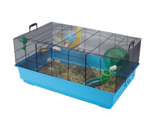 Lixit Animal Care Savic Mickey 2 Mice and Swarf Hamster Cage, X-Large 51S8drXIAfL