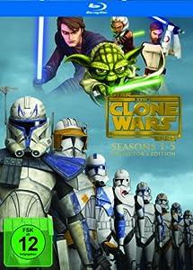 Star Wars: The Clone Wars - Komplettbox Staffel 1-5 (exklusiv bei Amazon.de) [Blu-ray]