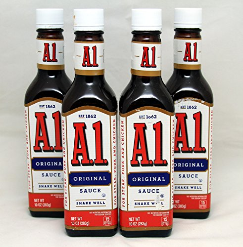 a1 steak Cook tip: you can take a1 steak sauce and mix in about three to four table spoons of it with about one pound of hamburger the higher the fat content, the more flavor in the ground beef.