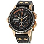 Hamilton Men's H77696793 Khaki X Black Dial Watch
