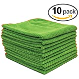 10 Antibacterial Microfiber Enviro Cleaning Cloths (16