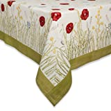 "Couleur Nature Springfields Multi Tablecloth, 70"" Round"