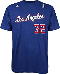 Blake Griffin Los Angeles Clippers NBA Adidas Player Blue T-Shirt by adidas