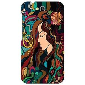 Honor Holly Hol-U19 Back Cover - Sleeping Beauty Designer Cases