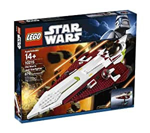 Lego Star Wars - 10215 - Jeu de Construction - Obi Wan's Jedi Starfighter