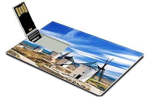 luxlady-32gb-usb-flash-drive-20-memory-stick-credit-card-size-group-of-windmills-in-campo-de-criptan