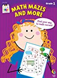 img - for Math Mazes and More Stick Kids Workbook, Grade 1 (Stick Kids Workbooks) book / textbook / text book