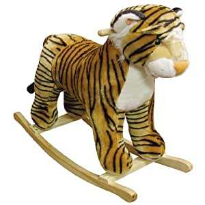Charm Company Tipsy Tiger Rocker with Realistic Animal Sound