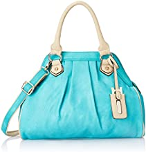Gussaci Italy Women's Handbag (Blue) (GC060)