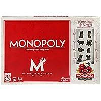 Hasbro Monopoly 80th Anniversary Edition, Multi Color