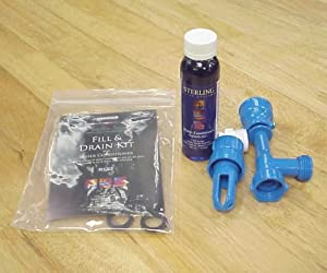 Waterbed Mattress Fill and Drain Kit with Water Conditioner