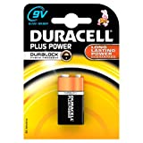 Duracell MN1604 Plus Power 9v Batteries--Pack of 1