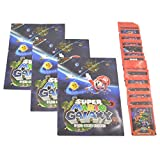 Nintendo Super Mario Galaxy Sticker Pack Lot and Book Gift Package