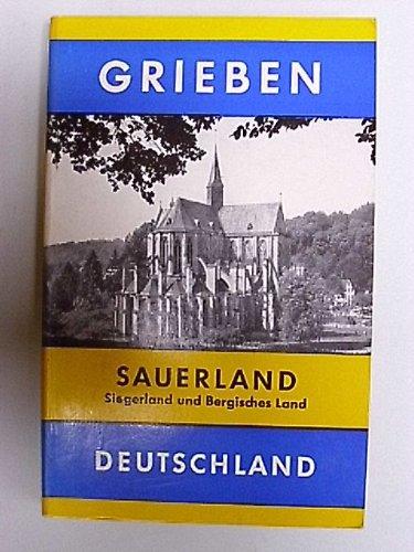 Sauerland, Siegerland und Bergisches Land Grieben-Reiseführer