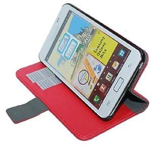 U-Bop Neo-ORBIT Horizontal Leather Case Stand (Black) | Samsung Galaxy Note 2 N7100