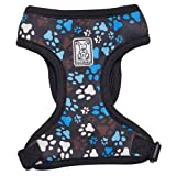 RC Pet Products Cirque Soft Walking Dog Harness, X-Small, Pitter Patter Chocolate