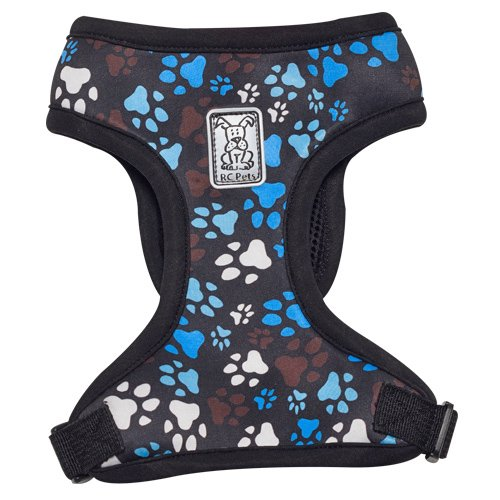 RC Pet Products Cirque Soft Walking Dog Harness, Medium, Pitter Patter Chocolate