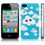 TERRAPIN LUXURY IPHONE 4 / IPHONE 4G CLOUD NINE BACK COVER CASE / SHELL / SHIELDby TERRAPIN
