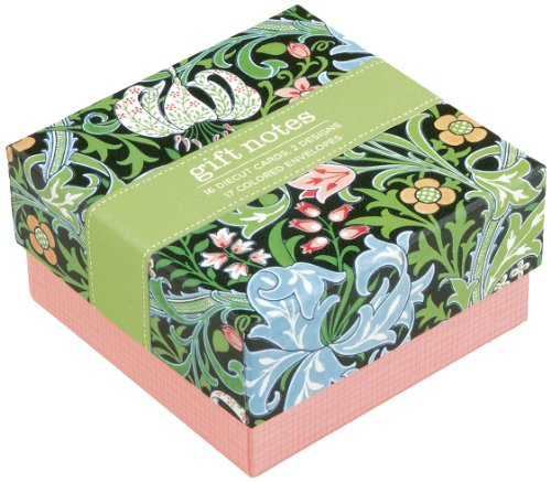 V&A William Morris Evening Lily Gift Notes