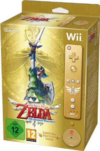 The Legend of Zelda: Skyward Sword - Limited Edition Gold Wii Remote Bundle