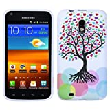 Asmyna SAMD710CASKCAIM682NP Premium Slim and Durable Protective Cover for Samsung Galaxy S II, Epic 4G Touch D710 - 1 Pack - Retail Packaging - Love Tree