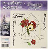 Crafter's Companion Mulberry Wood EZMount Cling Stamp Set, 4.75 by 4.75-Inch, All Wrapped Up