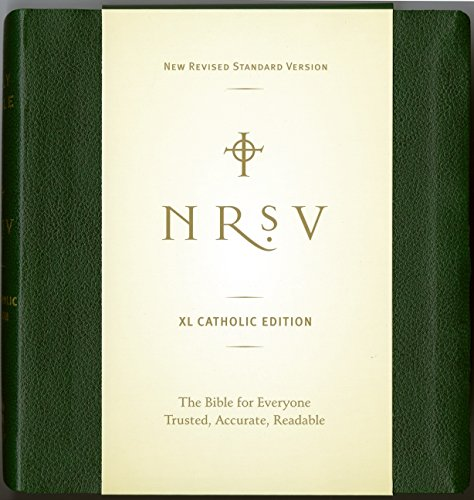 NRSV XL Catholic Edition (green)
