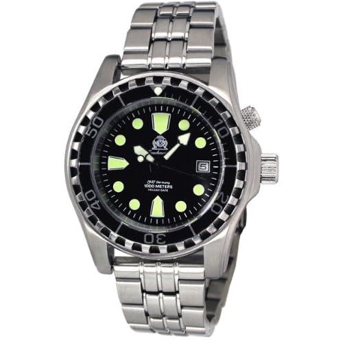 [トーチマイスター1937]Tauchmeister1937 腕時計2013 ドイツ製1000m防水自動巻ダイバー ヘリウムリリースバルブ登載T0257M(並行輸入品)