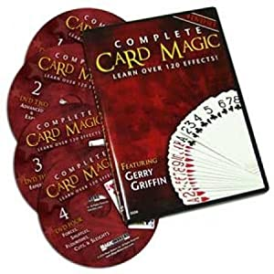 Complete Card Magic - 7 Volume Set on 4 DVD's! - The Most Complete Card Magic DVD Course on the Market!