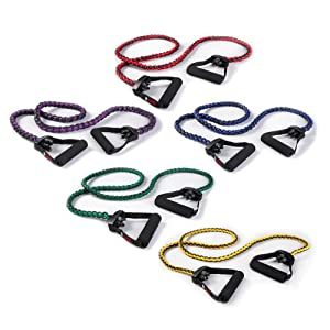 SPRI Braided Xertube Plus Resistance Band Exercise Cords