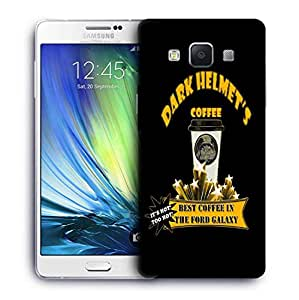 Snoogg Dark Helmets Coffee Designer Protective Back Case Cover For SAMSUNG GALAXY A7