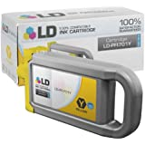 LD © Compatible Replacement for Canon PFI-701Y High Yield Yellow Pigment Inkjet Cartridge for use in Canon imagePROGRAF iPF8000, iPF8000s, iPF8100, iPF9000, iPF9000s and iPF9100 Printers