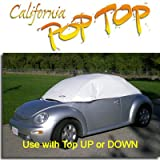 Volkswagen VW New Beetle PopTop Sun Shade, Interior, Cockpit, Car Cover. Use with Top UP or Down - SEMA SHOW NEW PRODUCT AWARD WINNER