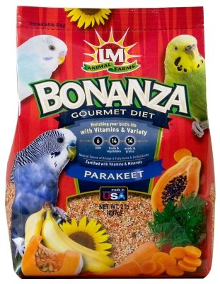 Cheap Brand New, LM ANIMAL FARMS – BONANZA PARAKEET 2LB (BIRD PRODUCTS – BIRD – FOOD: SEEDS & PELLETS) (MSSLM02288-LT|1)