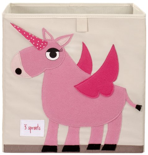 Best Buy! 3 Sprouts Storage Box, Unicorn