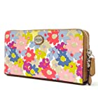 Coach Peyton Floral Accordion Zip Around Wallet F51129