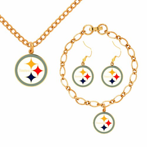 NFL Pittsburgh Steelers Jewelry Set from SteelerMania