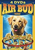 Air Bud - 4 PACK - Golden Edition [DVD] (Air Bud, World Pup, 7th Inning Fetch & Spikes Back)