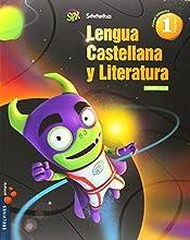 Lengua 1º Primaria (Cuadrícula) (Tres Trimestres) +: Lecturas Superpixépolis