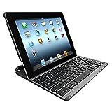 ZAGG  PROfolio Ultrathin Case with Bluetooth Keyboard for iPad 2/3/4-Black