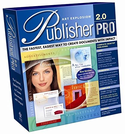 Art Explosion Publisher Pro 2.0