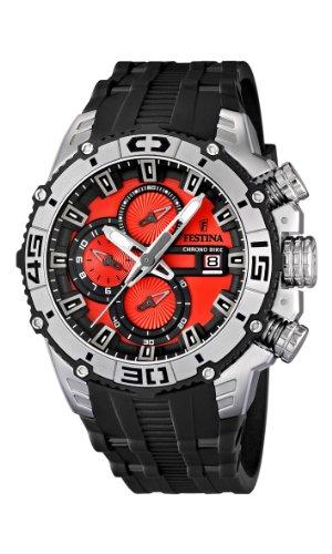 Festina 16600/7 - Reloj cronógrafo de cuarzo para hombre con correa de plástico, color negro