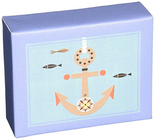 "Oopsy Daisy Redbeard and Crew Night Light, Anchors and Sails, 5"" x 4"""