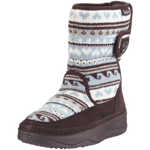 Skechers 38716 Tone-ups Chalet Carve, Women's Boots - Dark Brown, 35 EU