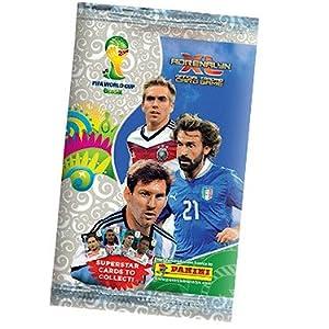 Panini - Adrenalyn XL - 2014 Fifa World Cup Brazil - Pochette de 6 Cartes à Collectionner